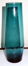 Smaragdgroene Scandinavische glazen vaas