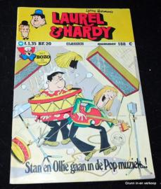 Laurel en Hardy nr. 188 - Stan en Ollie gaan in de pop-muziek..!