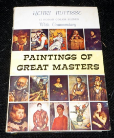 Henri Matisse - 12 Kodak Color Slides with Commentary