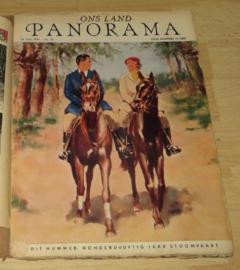 Ons Land Panorama - lees Portefeuille, Juni 1939