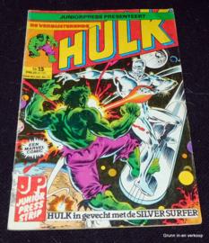 De Verbijsterende Hulk - Nr 15: Hulk in gevecht met....