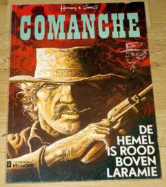 Comanche 4 - De Hemel is rood boven Laramie