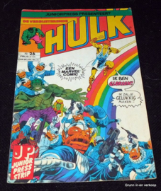 De Verbijsterende Hulk - Nr 26: De man die over de..
