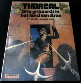 Thorgal 3: De drie grijsaards in het land van Aran