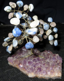 Amethist edelsteen boompje
