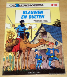De Blauwbloezen Nr 25 - Blauwen en Bulten