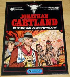 Jonathan Cartland 3 - De Schat van de Spinne-vrouw
