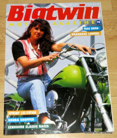 Big Twin 78, Motor Magazine, Biker Lifestyle, Biker Magazine, 1993