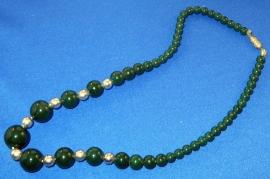 Groene vintage ketting