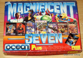 Vintage 1987 Commodore 64 - The Magnificent Seven spel