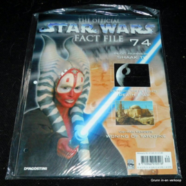 The Official Star Wars Fact File - Fact file 74 en Fact file 75