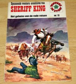 Sheriff King - Het geheim van de Rode Rotsen