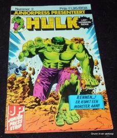 De Verbijsterende Hulk - Nr 2: Rennen ...er komt een monster aan !!