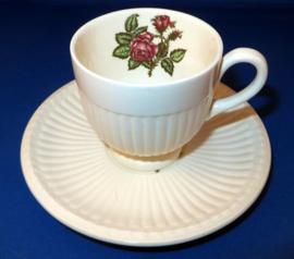 Koffiekop & Schotel - Wedgwood Moss Rose