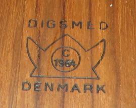 Digsmed Denmark Draaiplateau / serveerschaal met schaaltjes