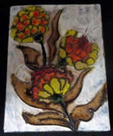Ruscha Keramik fat Lava wandtegel