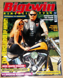 Big Twin 96, Motor Magazine, Biker Lifestyle, Biker Magazine, 1995