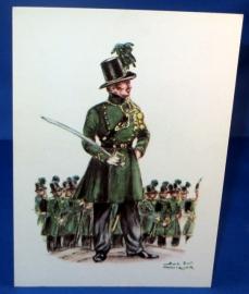Carabiniers - Officieren en soldaten 1845