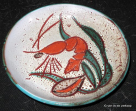 Vintage aardewerk Decor Main schaal