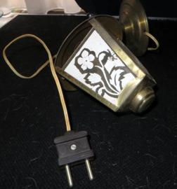 Vintage hanglamp, kleine lantaarn met dakje
