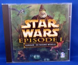 PC game Star Wars Episode 1 - Gungan - De Nieuwe Wereld - Win95/98