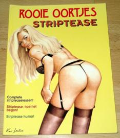 Rooie Oortjes – Striptease (Eerste druk)