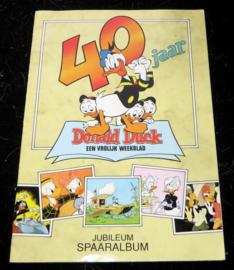 40 Jaar Donald Duck een vrolijk weekblad - Jubileum spaaralbum
