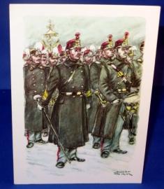 Meester trommelaar, trommelaars en muzikanten 1914