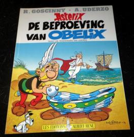Asterix de Beproeving van Obelix