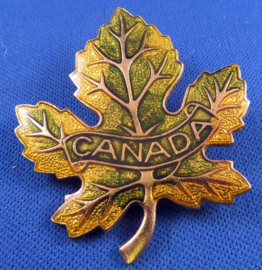 Canada esdoornblad broche