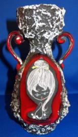 Moderne Ceramica Giulianelli, San Marino Fat Lava vaas