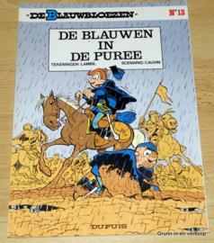 De Blauwbloezen Nr 13 - De Blauwen in de Puree