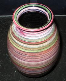 Piet Knepper Mobach regenboog serie vaas