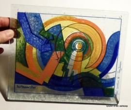 Theo Jansen Royal Leerdam - glaskunstobject 1986