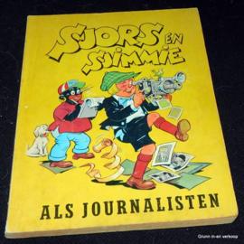 Sjors en Sjimmie als journalisten – 1964