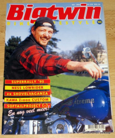 Big Twin 102, Motor Magazine, Biker Lifestyle, Biker Magazine, 1995