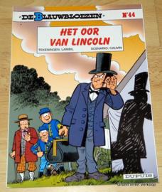 De Blauwbloezen Nr 44 - Het oor van Lincoln
