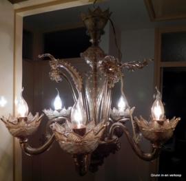 Venetiaanse kroonluchter van Murano glas