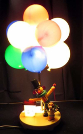 Vintage Circus Clown ballon Lamp