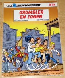 De Blauwbloezen Nr 33 - Grumbler en Zonen
