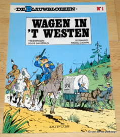 De Blauwbloezen Nr 1 - Wagen in 't Westen
