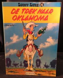 Lucky Luke 14: De Trek naar Oklahoma