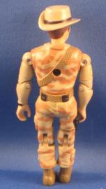 Lanard The CORPS 1986 - vintage Action Figure, Boomerang Billie