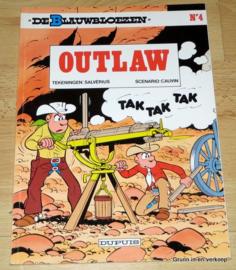 De Blauwbloezen Nr 4 - Outlaw