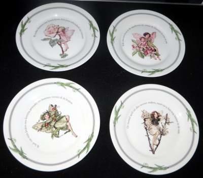 Douwe Egberts Flower Fairies borden