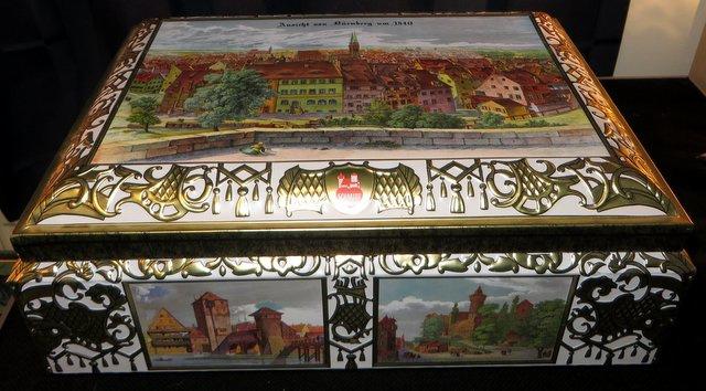 Blikken trommel, Ansicht von Nürnberg um 1840