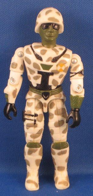 Lanard The CORPS 1990 - vintage Action Figure, Cybor Trooper