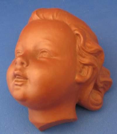 Goebel muur masker Terracotta