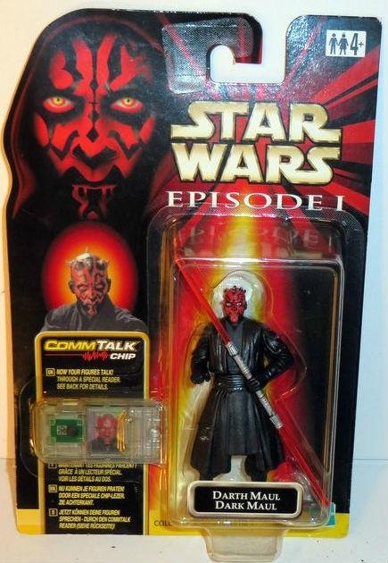 Star Wars Action Figure Darth Maul (Dark Maul) uit 1999