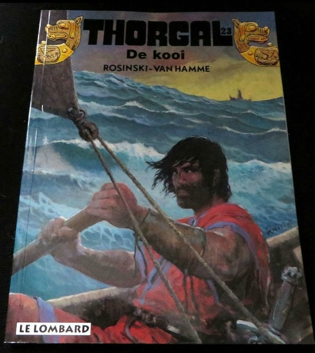 Thorgal 23: De kooi
